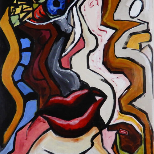 Flesh and Sin   Painting